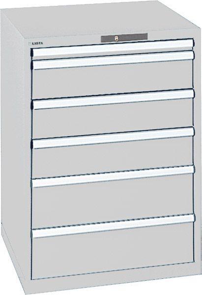 Schubladenschrank Typ 4H mit 6 Schubladen, Serie 725