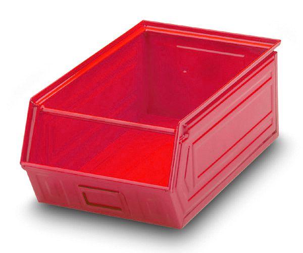 Stahlblech-Sichtlagerkasten Gr. 2, pulverbeschichtet
