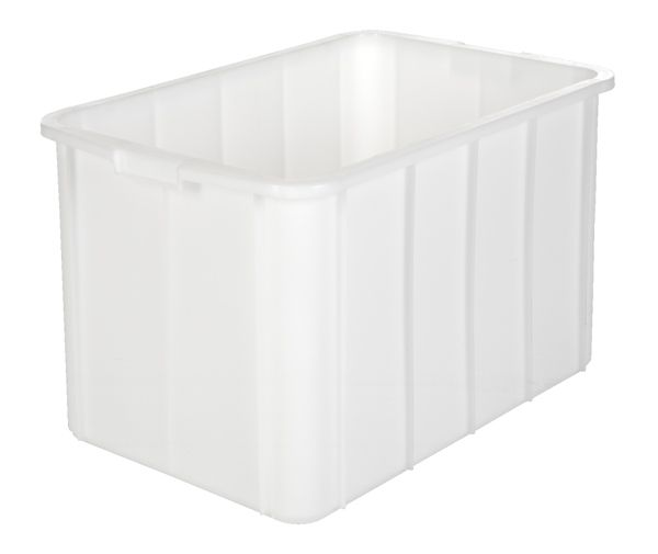 Muschelgriff-Stapelkasten, Inhalt 96 Liter