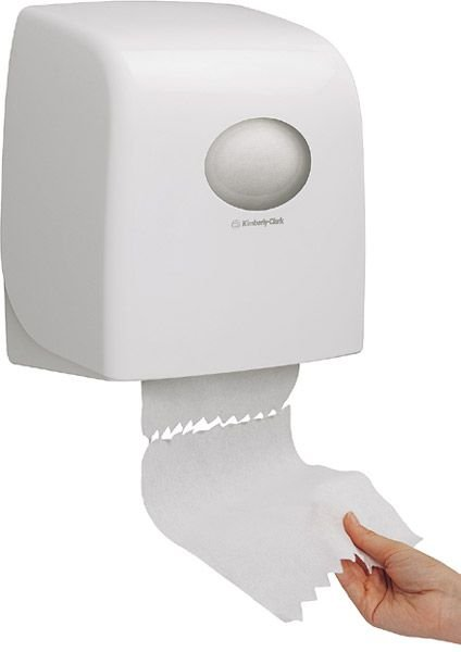Aquarius Rollen-Handtuchspender Slimroll, weiß, B318xT191xH343mm