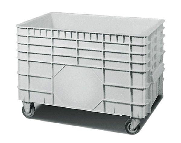 Groß-Stapelbehälter mit 4 Rollen, 300 Liter Inhalt, Tragkraft 300kg, 1030x640x660mm
