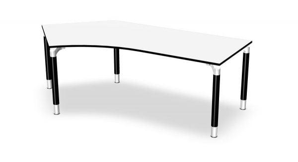 Kompakt-Schreibtisch links Serie dataline RQ