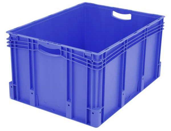 Euro-Stapelbehälter XL, 169 l, mit doppeltem Boden, bis 200 kg belastbar, 600x800x420mm