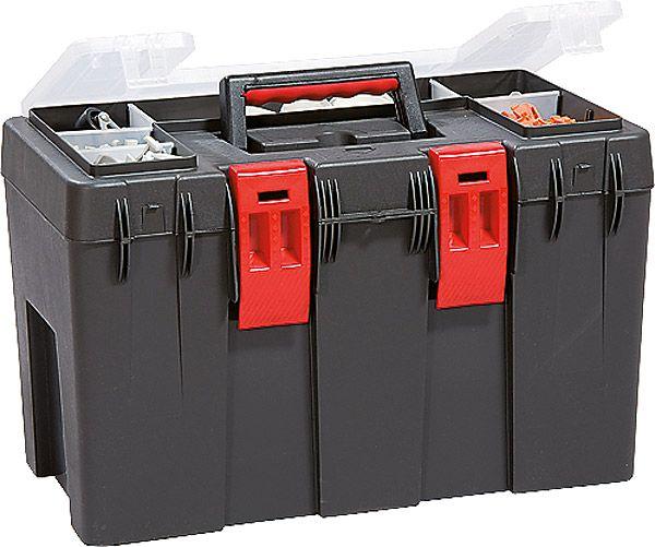 Werkzeugkoffer Magnus Eco Typ 1, anthrazit/rot, B470x260x300mm