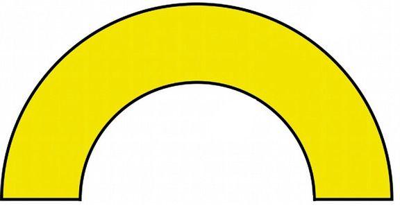 Warn- und Schutzprofil, Rohrschutz Tselbstklebend, Typ R 30